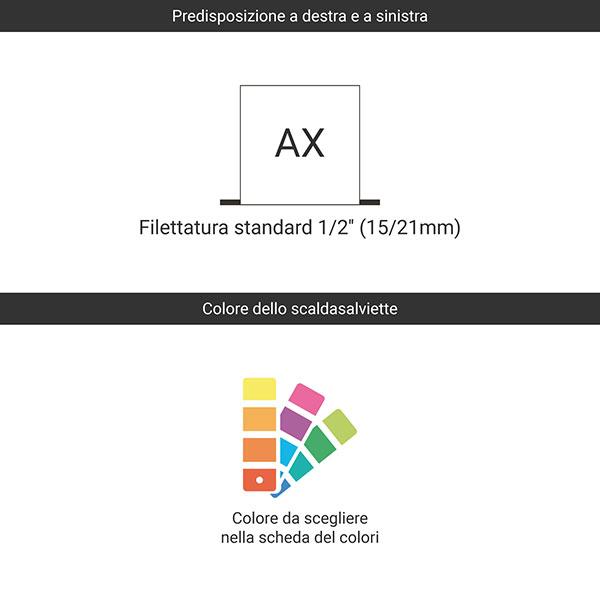 predisposizione ax colore