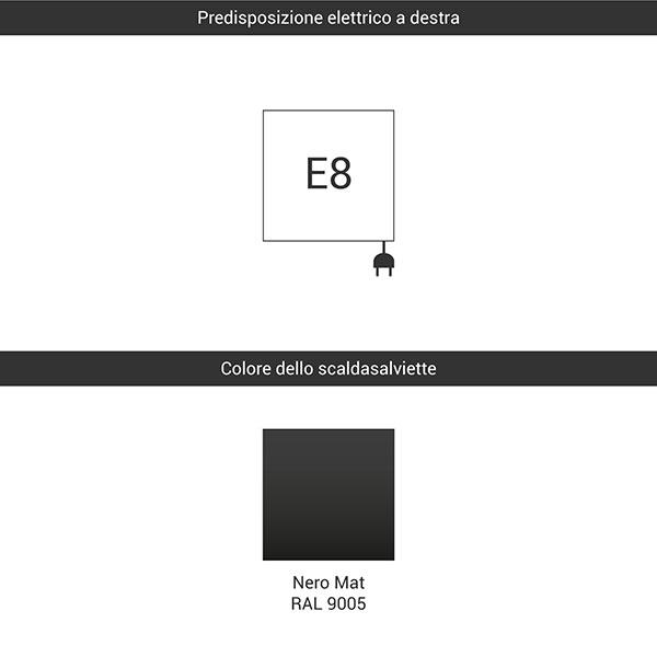predisposizione e8 nero