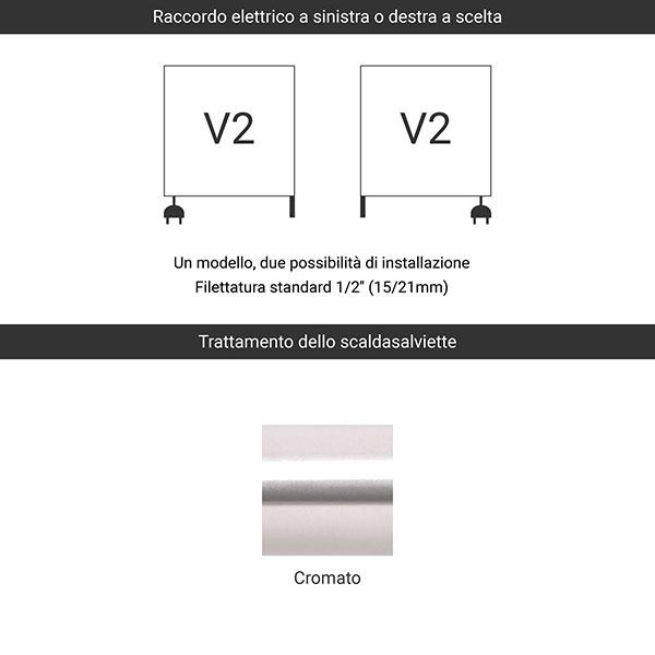 predisposizione v2 cromato
