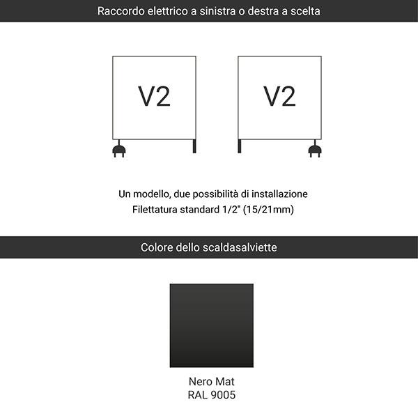 predisposizione v2 nero