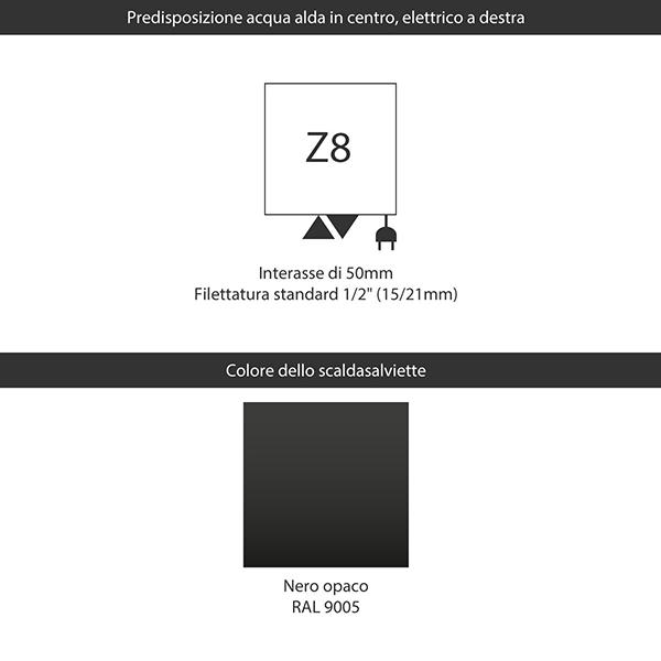 predisposizione z8 nero