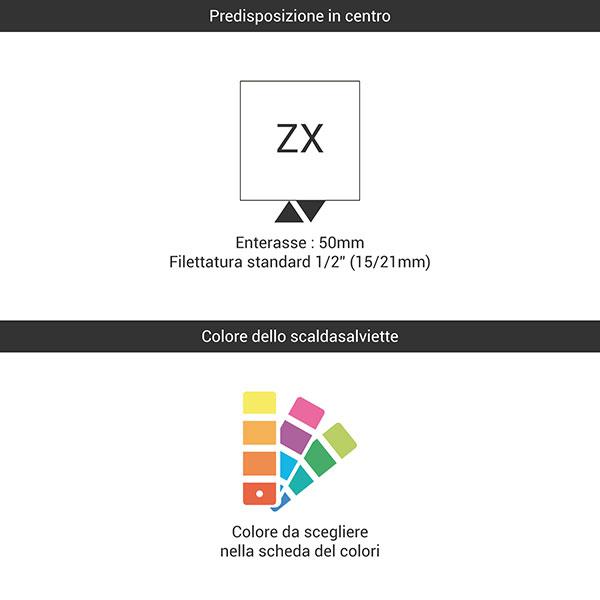 predisposizione zx colore