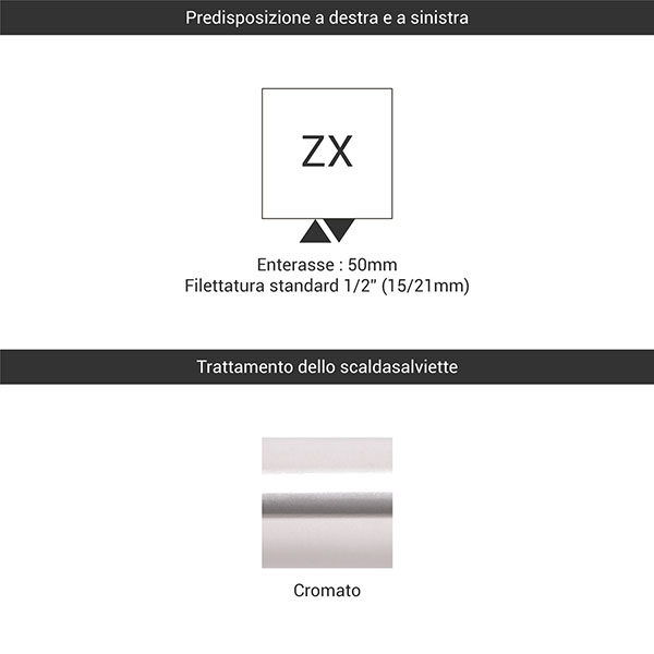 predisposizione zx cromato