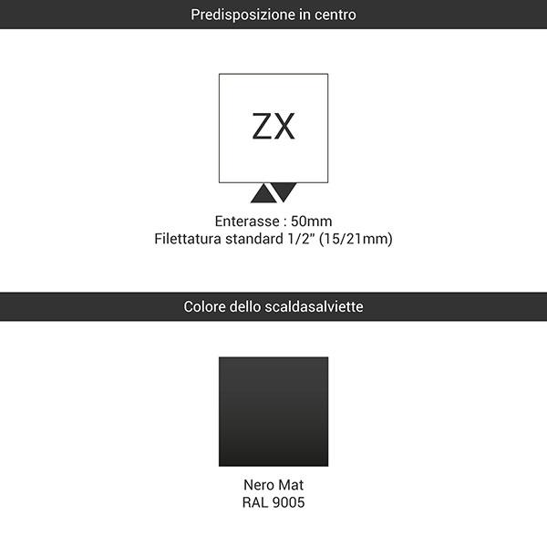 predisposizione zx nero