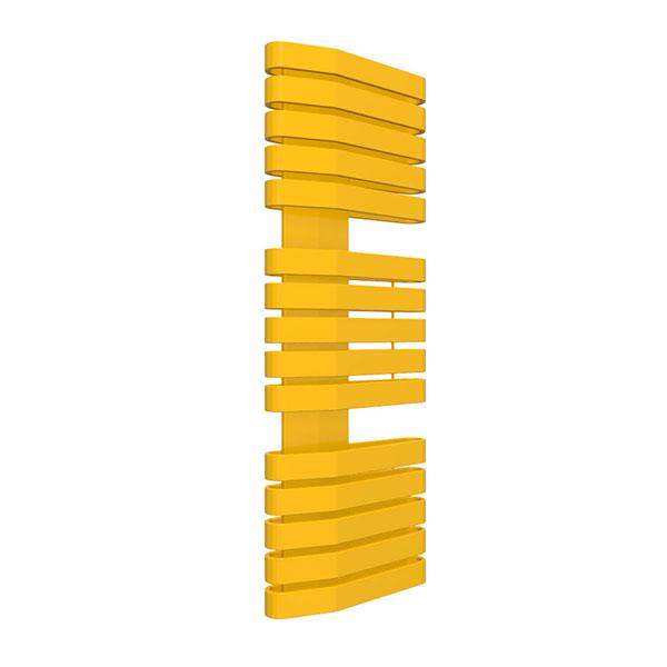 scaldasalviette giallo 1021 iron s 400