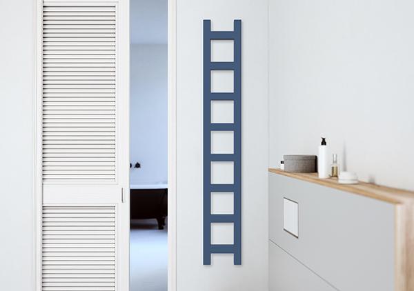 stretto scaldasalviette easy colore parete
