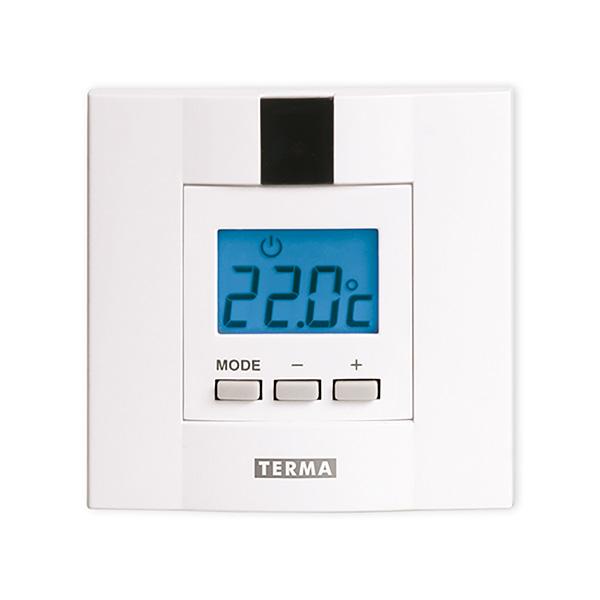 termostato scaldasalviette dtir bianco