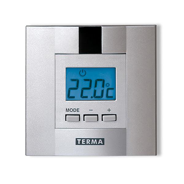 termostato scaldasalviette dtir satinato