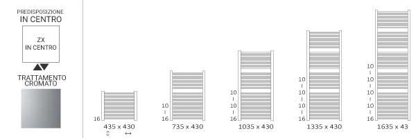 schema scaldasalviette cromato 430mikezx
