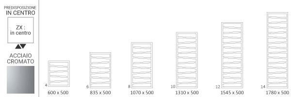 schema scaldasalviette cromato zigzagzx