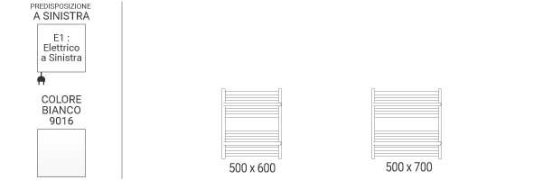 schema scaldasalviette orizzontale limae1b