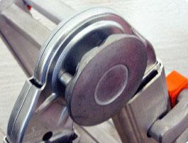 articolazioni della scaletta telescopica