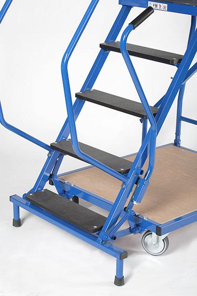 blocco scaletta con ruote ESRB