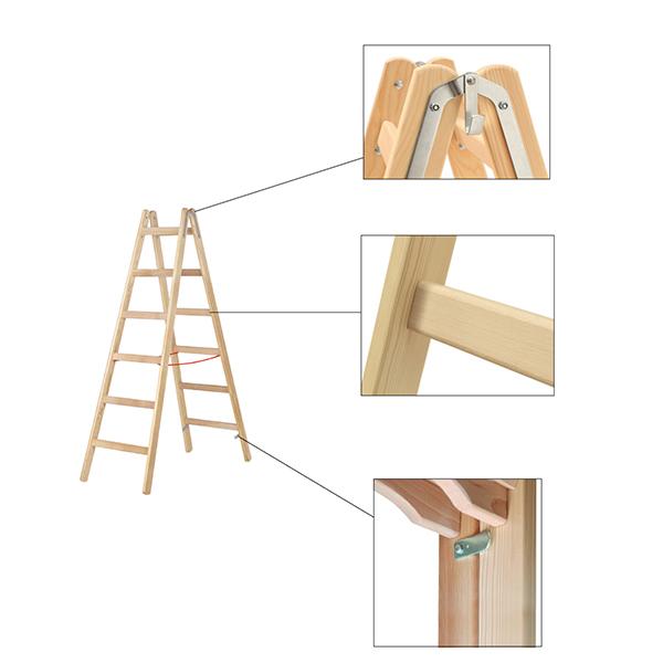 dettagli scaletta imbianchino legno 71410