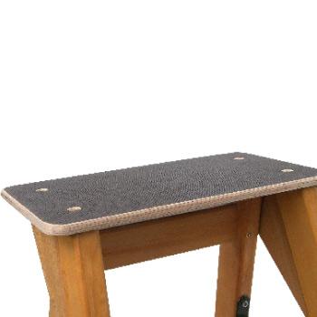 pianetto scaletta legno