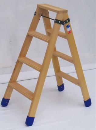 scaletta doppia in legno