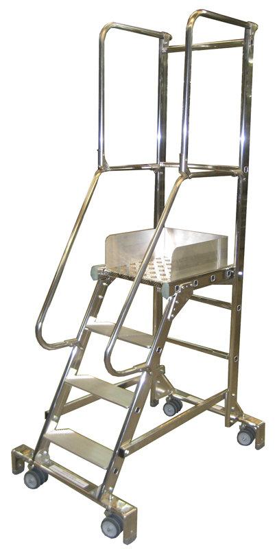 Scaletta con ruote 19600