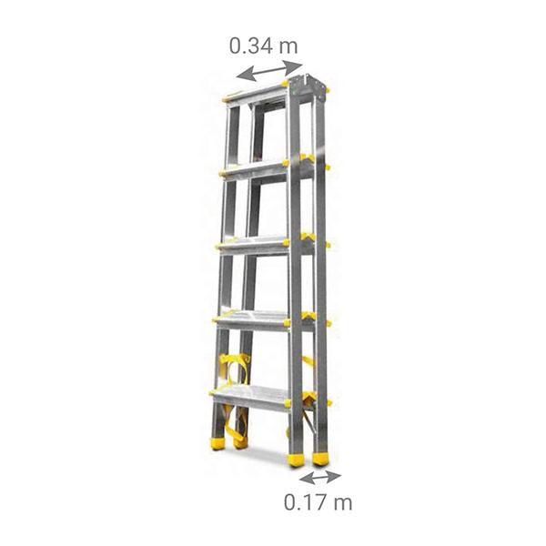 scaletta doppia 920 piegato