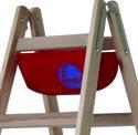 borsa porta-attrezzi per scaletta in legno