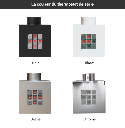 couleurs thermostats