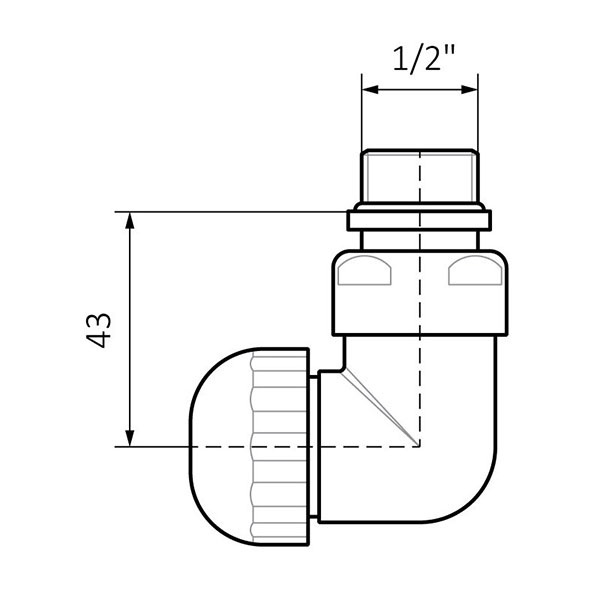 dimensions vanne thermostatique triaxe murprofil