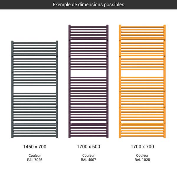 gamme grand seche serviettes lima couleur