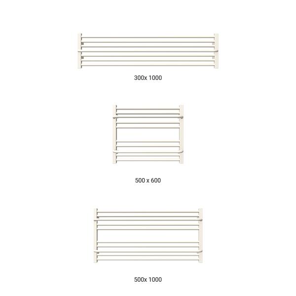 gamme seche serviette horizontal lima blanc