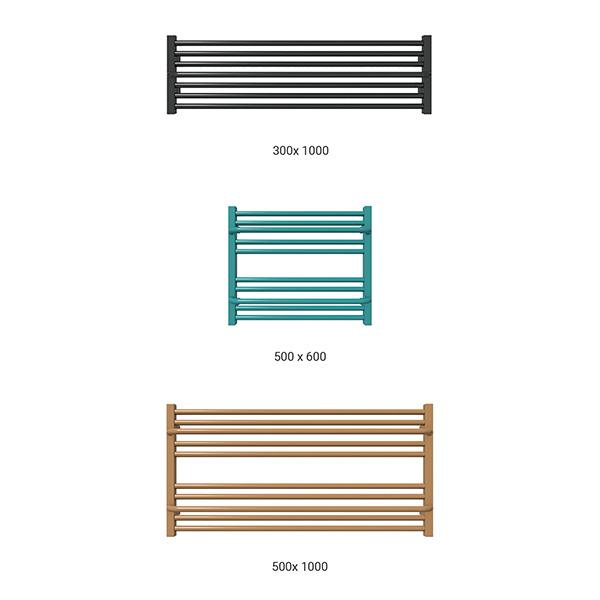 gamme seche serviette horizontal lima couleur