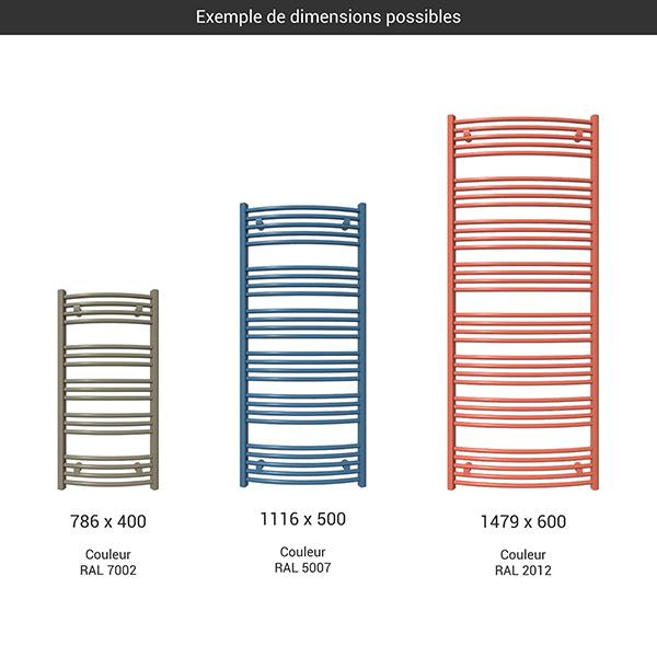 gamme seche serviettes domi couleur
