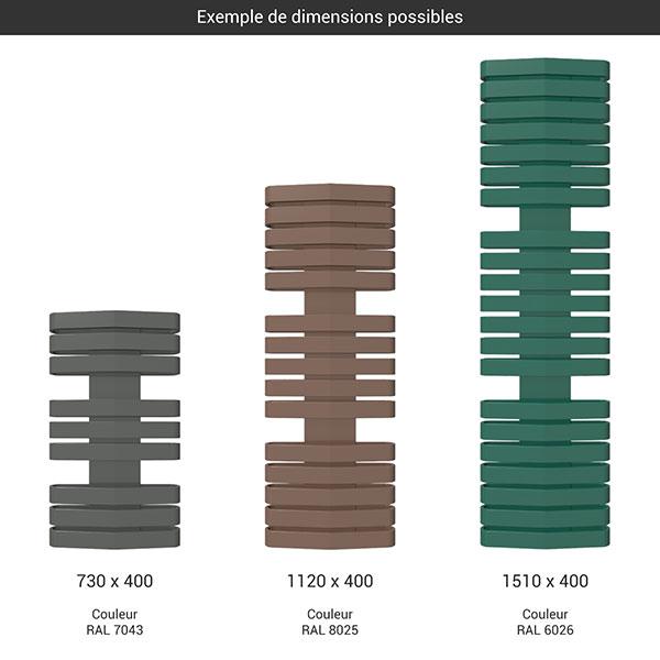 gamme seche serviettes iron d 400 couleur