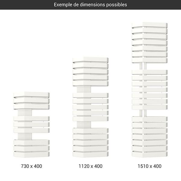 gamme seche serviettes iron s 400 blanc