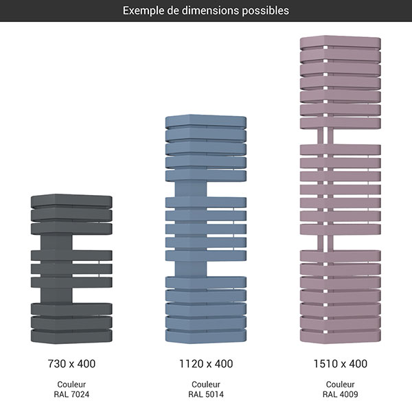 gamme seche serviettes iron s 400 couleur