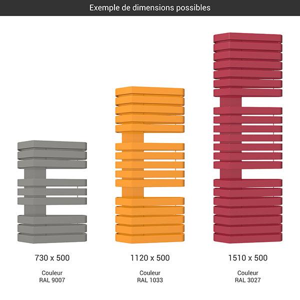 gamme seche serviettes iron s 500 couleur