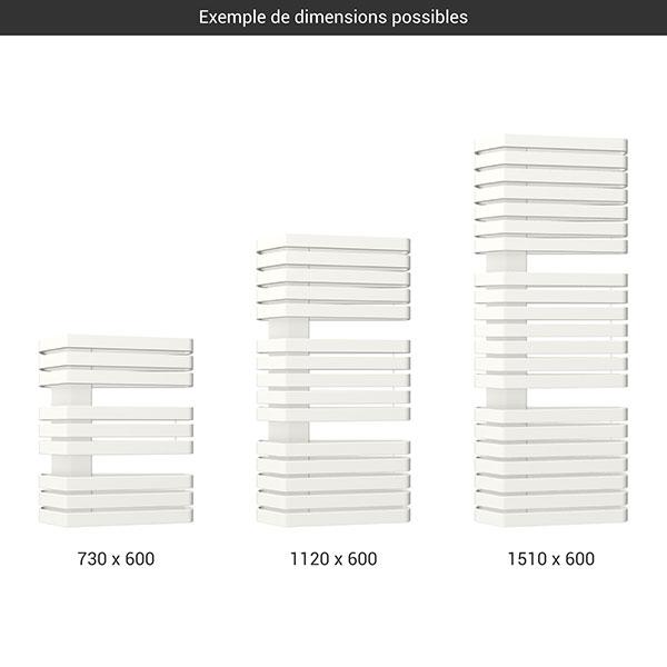 gamme seche serviettes iron s 600 blanc