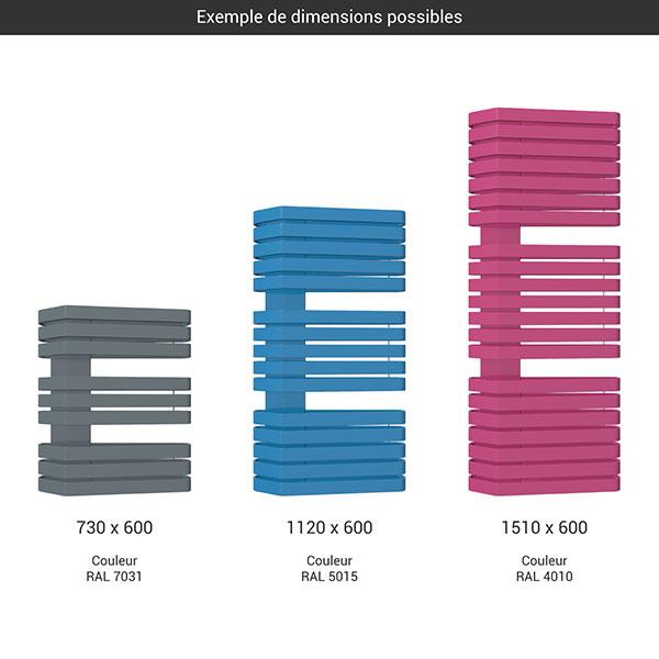 gamme seche serviettes iron s 600 couleur