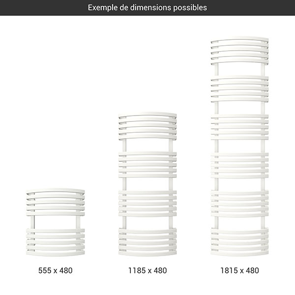 gamme seche serviettes kioto blanc