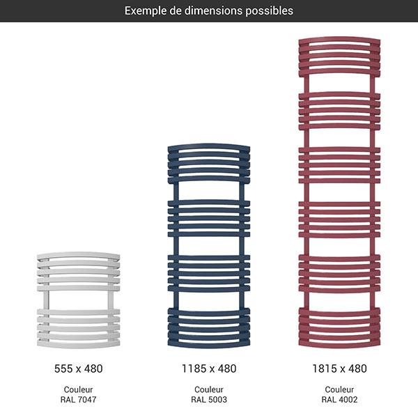 gamme seche serviettes kioto couleur