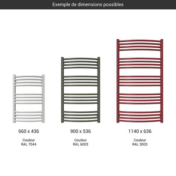 gamme seche serviettes lena couleur