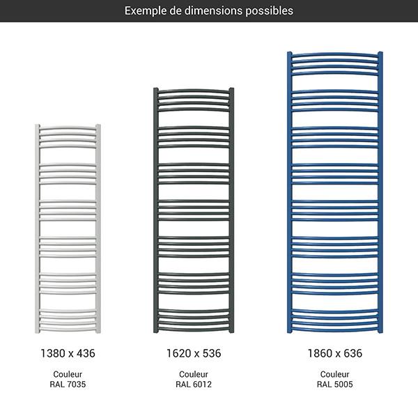 gamme seche serviettes lena grand couleur