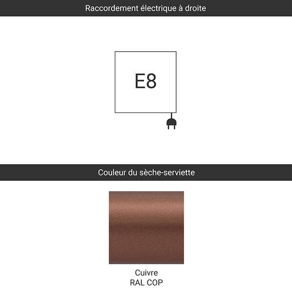 raccordement e8 cuivre