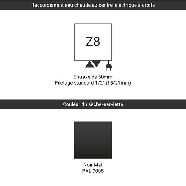 raccordement z8 noir