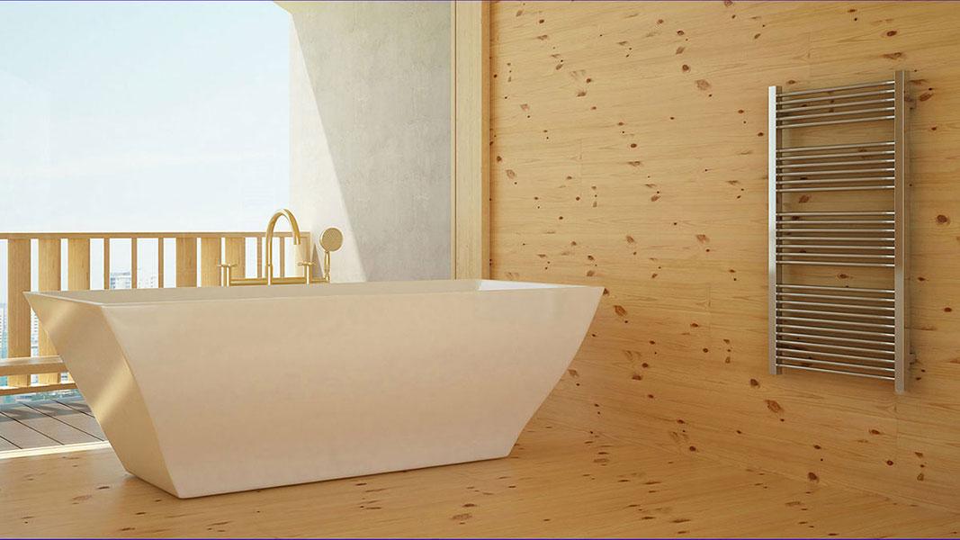 radiateur salle de bain chrome mike