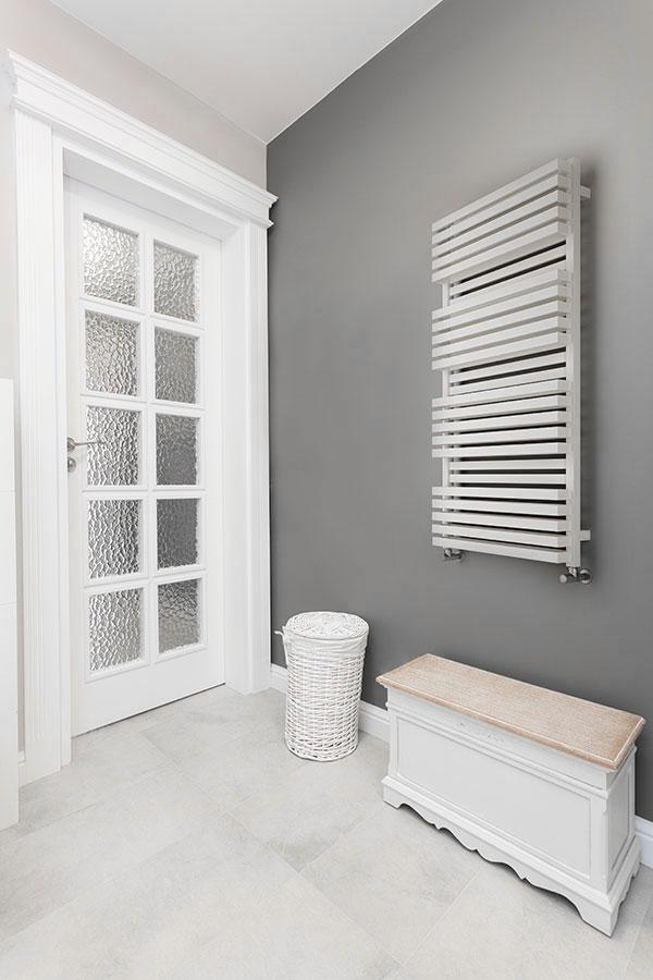 radiateur salle de bain quadb blanc