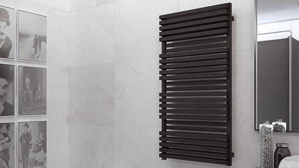 radiateur salle de bain quadrusb noir