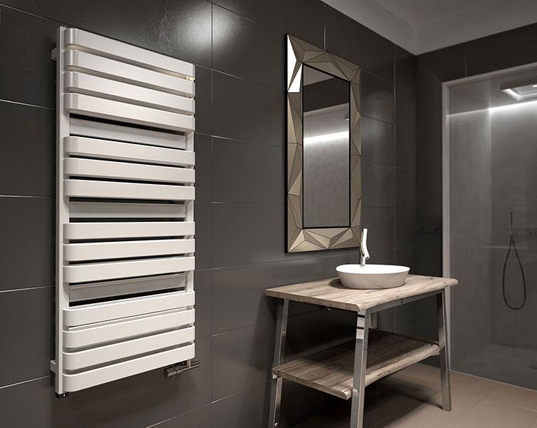 radiateur salle de bains blanc warpt bold