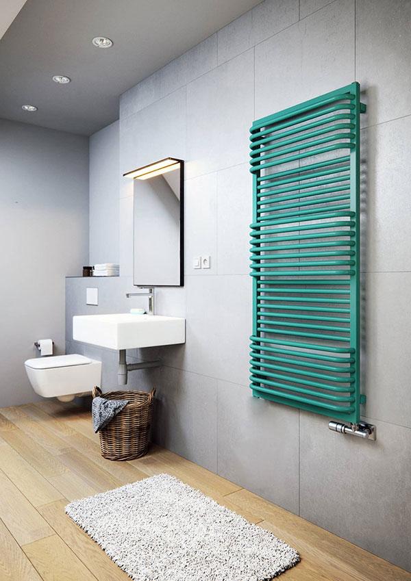 radiateur seche serviette pola vert