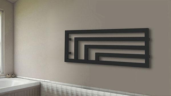 seche serviette horizontal angus noir 5
