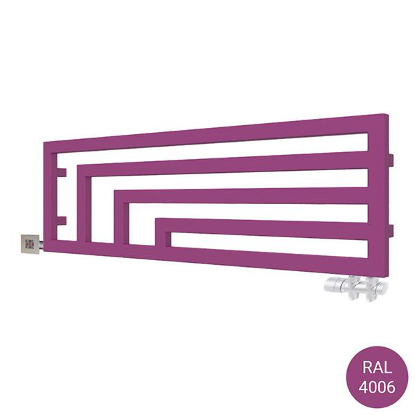 seche serviette horizontal angus y2 ral4006