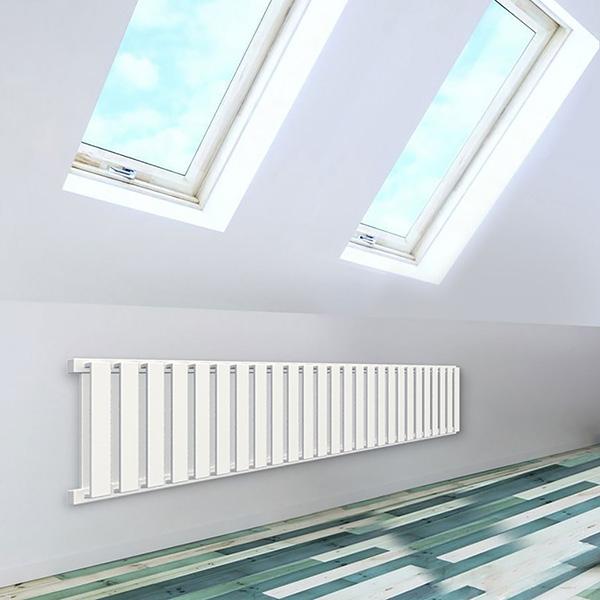 seche serviette horizontal nemo blanc 5