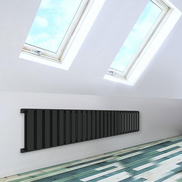 seche serviette horizontal nemo noir 5